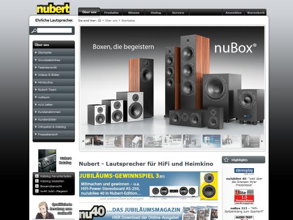 Nubert Lautsprechersysteme